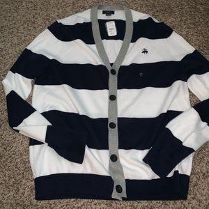 Men's sweater cardigan